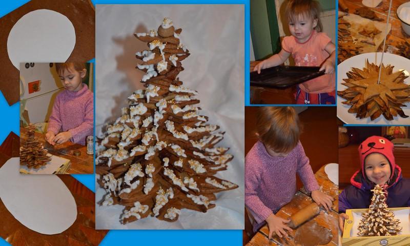 Gatavojam ziemassvētku eglīti kopā ar bērniem