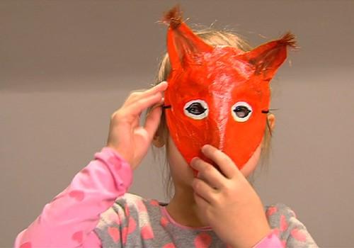Gatavojam Ziemassvētku maskas