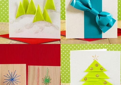 Gatavojamies Ziemassvētkiem: 42 idejas pašdarinātām Ziemassvētku kartiņām