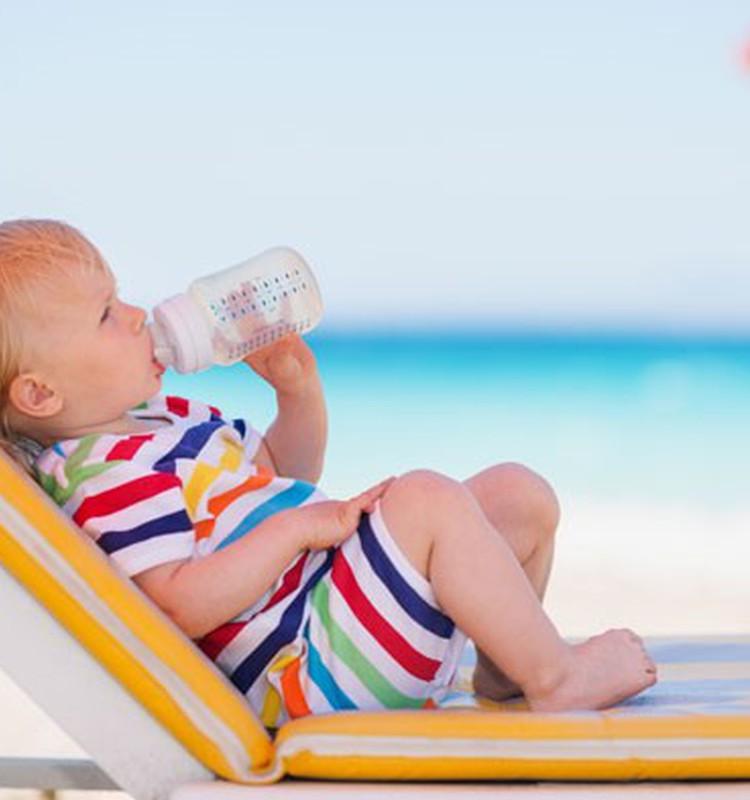 Pasargāsim mazuļus no saules