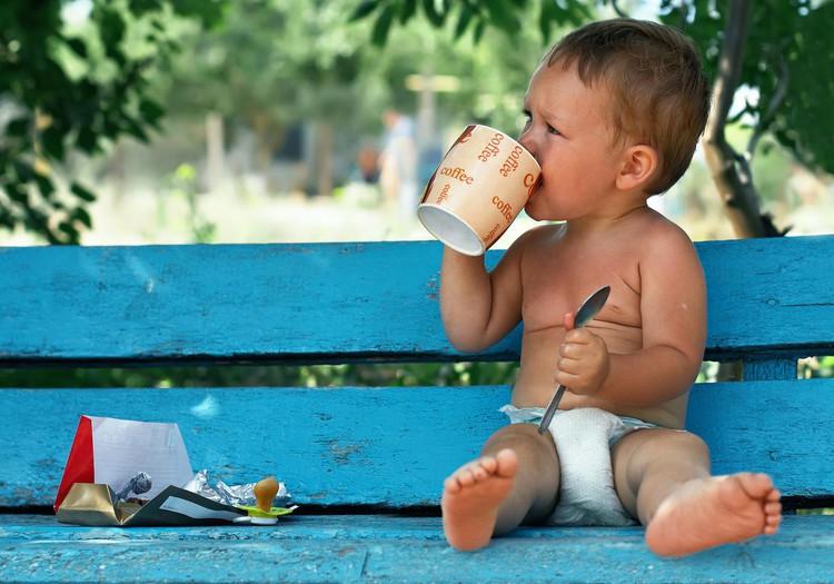 Ak, tā karstā kafijas krūze ..