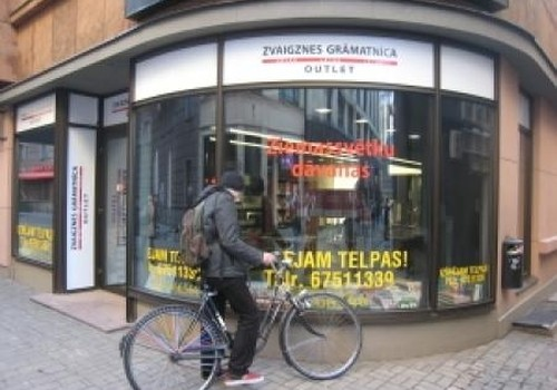 Durvis ver otrais grāmatu outlet veikals