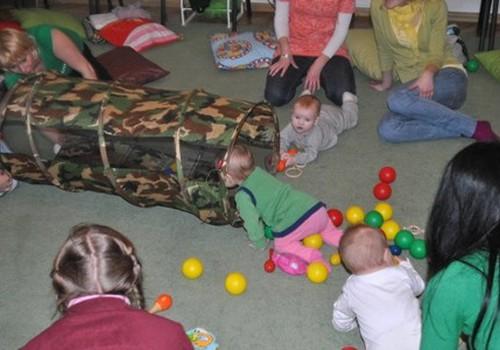 Tiekamies attīstības nodarbībā bērniem līdz 1 gada vecumam!