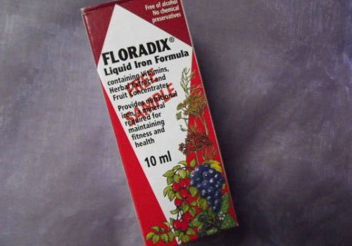 Jau no paša sākuma ar Floradix!