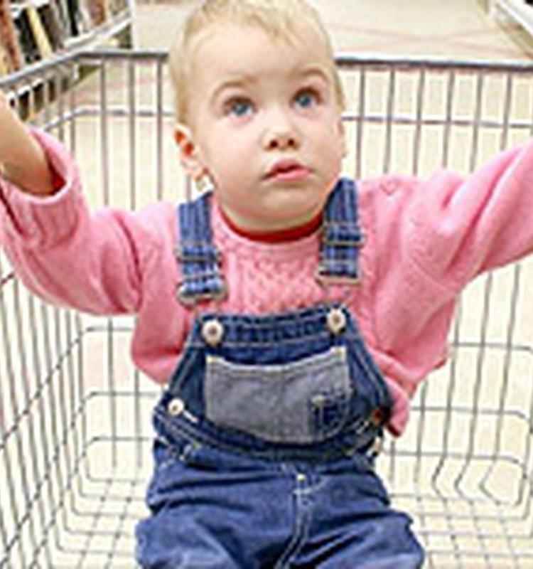Kā jūsu bērni uzvedas veikalā?