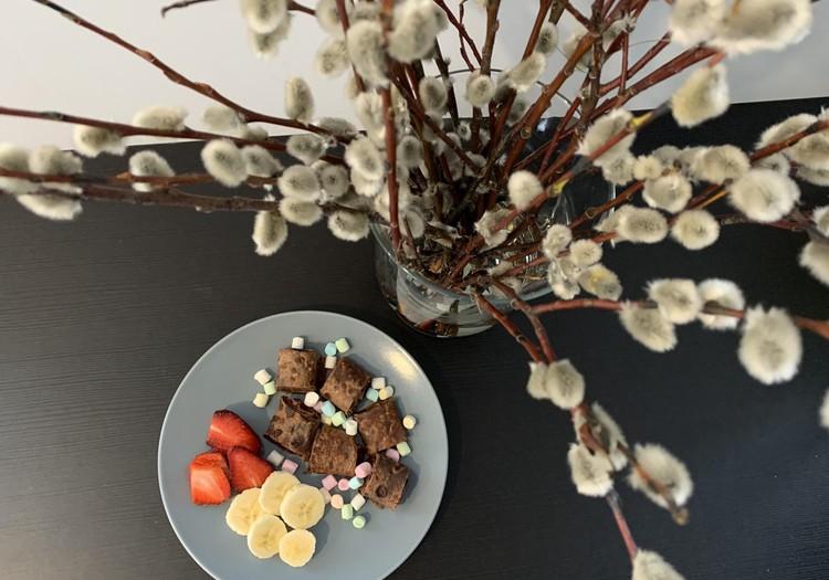 Pūpolsvētdienas kakao pankūkas