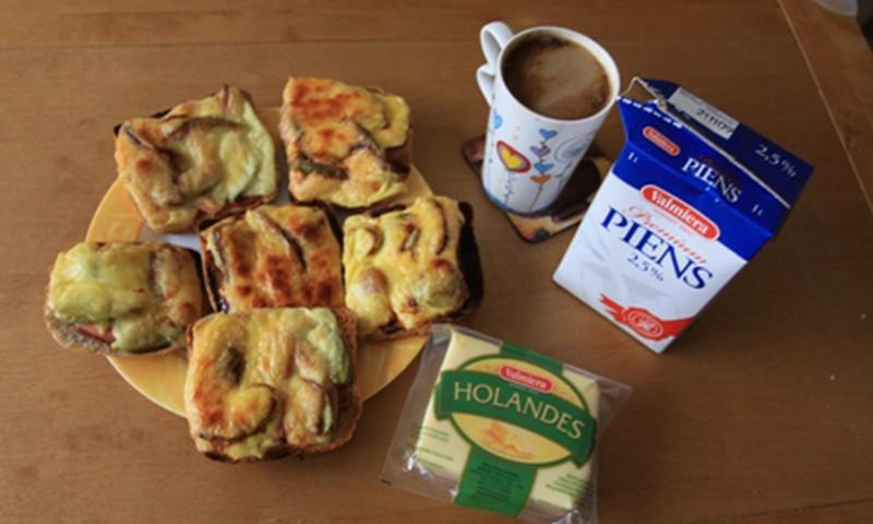 Karstmaizītes brokastīs