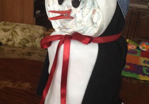 Huggies autiņbiksīšu pingvīniņš