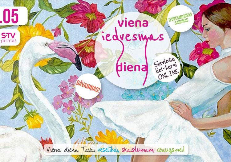 Sieviešu Festivāls aicina uz Iedvesmas dienu 21.maijā!