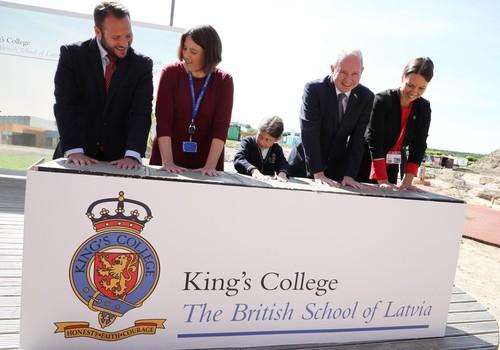 King's College, Britu skola Latvijā investē 15 miljonus skolas paplašināšanā
