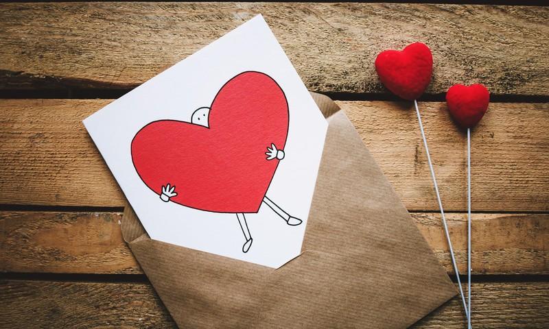 Sveicam mīlestības svētkos!