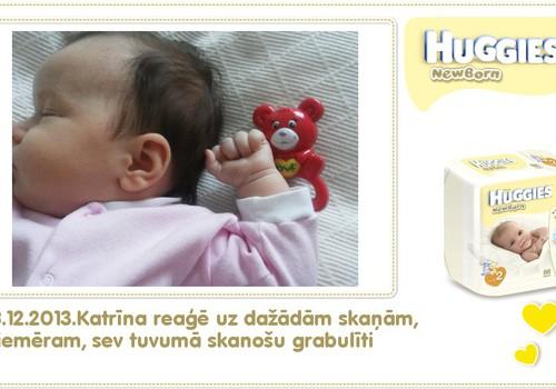 Katrīna aug kopā ar Huggies® Newborn: 51.dzīves diena