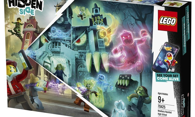Izlozēts LEGO® Hidden Side™ komplekta laimētājs