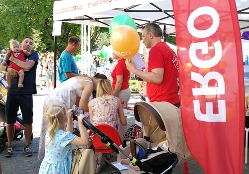 Koši un droši Māmiņu kluba Vasaras festivālā, kopā ar ERGO
