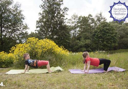 Konkurss: esi radoša un izdomā jogas pozām nosaukumus!