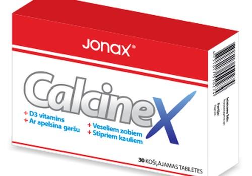 Kalcija deficīts? Piesakies Calcinex testiem!