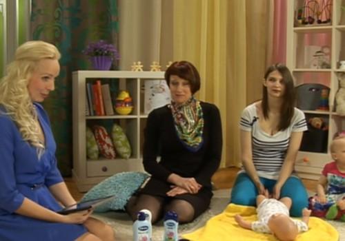 ONLINE TV: Kā tikt galā ar mazuļa ādas problēmām?