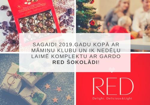 KONKURSS: Gaidīsim 2019.gadu kopā! Laimē ik nedēļu RED gardo šokolādi!