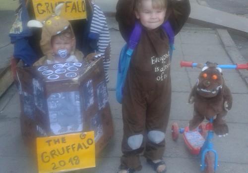 Gruffalo dodas uz lielo ratu paradi 2018