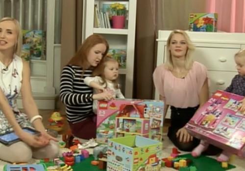 ONLINE TV bērnu preču jaunumos LEGO Duplo bērnu rotaļlietas