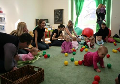 Piesakies uz attīstības nodarbību mazuļiem līdz 1 gada vecumam novembrī!