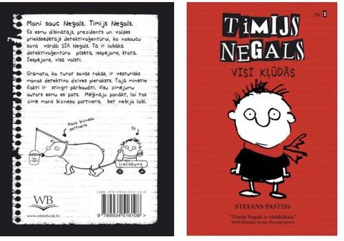 MK redaktore: Timijs Negals patiks kā lieliem, tā maziem lasītājiem!