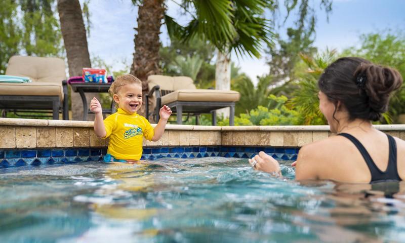 Autiņbiksīšu izvēle, dodoties uz baseinu