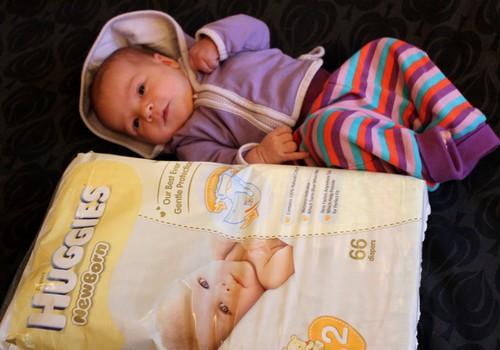 SABĪNE: Huggies® Newborn - mūsu favorīts