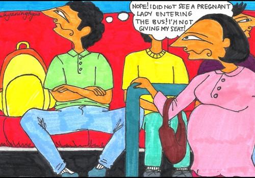 Sabiedriskais transports, skolēns un pieklājība
