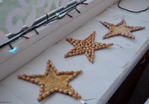 MEISTARKLASE: Ziemassvētku rotājumi - zvaigznītes