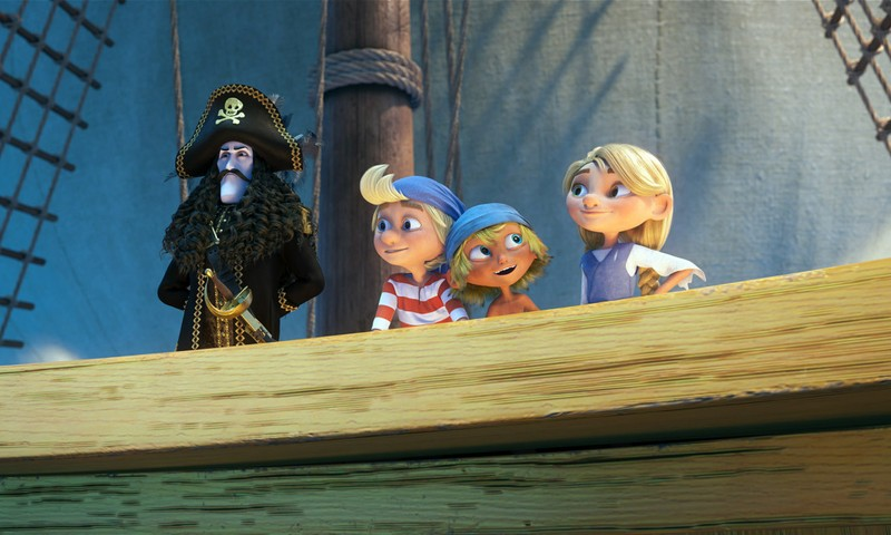 """Kurš dosies skatīties multenīti """"Kapteinis Zobenzobs un burvju briljants""""?"""