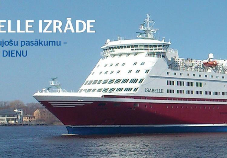 Tallink rīko atvērto durvju dienu uz kuģa M/S Isabelle