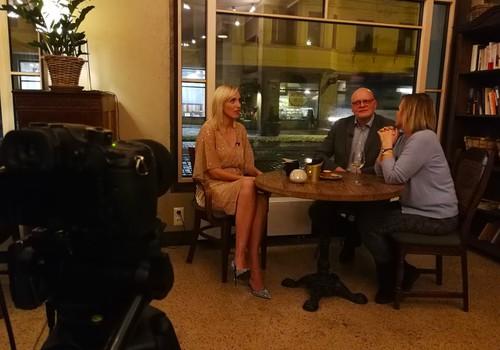 23.decembra Māmiņu Kluba TV raidījuma lielajā intervijā - Diāna Zande