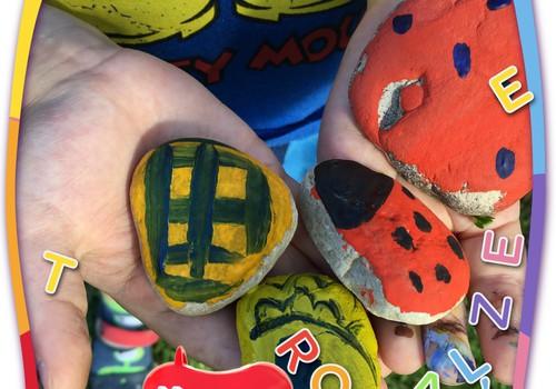 Radi kopā ar bērnu: Akmentiņu apgleznošana
