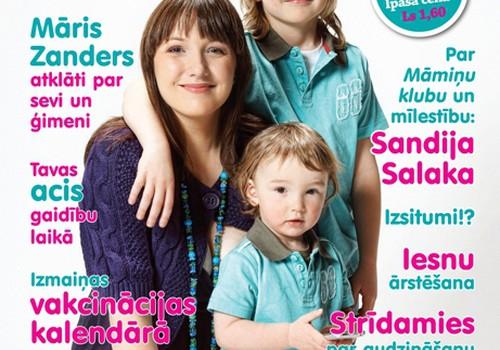 """Žurnālā """"Šūpulītis"""" - būtiskais par grūtniecību, dzemdībām un bērniņu! Lasi aprīļa numuru!"""
