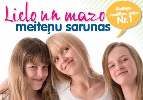 Meiteņu veselības E-avīze mammai un meitai: lasi ONLINE šeit->>