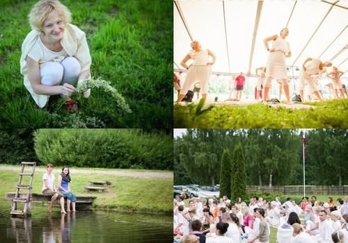 Joga topošo māmiņu veselībai: Saulgriežu jogas festivāls 20.-22.jūnijā