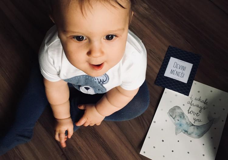 9.mēnesis - bērns sāk diktēt savus noteikumus.