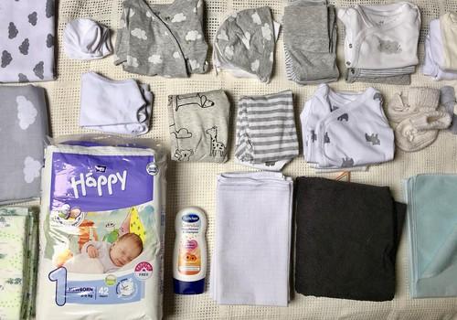 Ko likt dzemdību somā mazulītim?