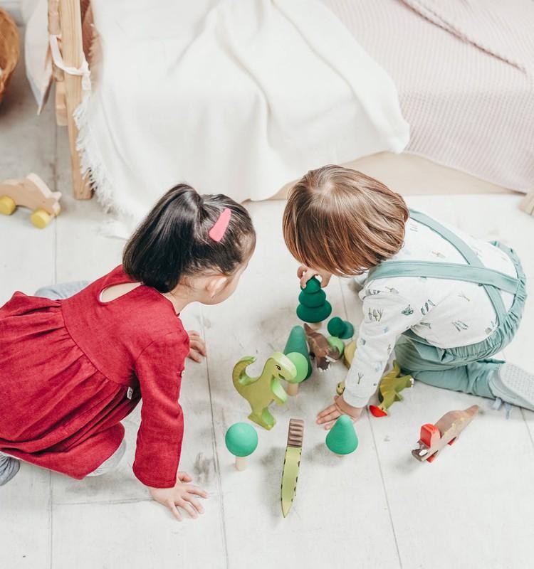 Attīstošas rotaļas četrgadniekiem