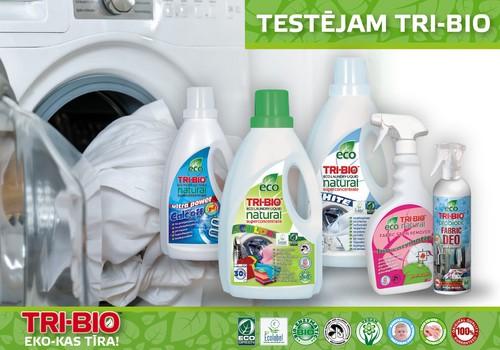 Piesakies Tri Bio produktu testiem!