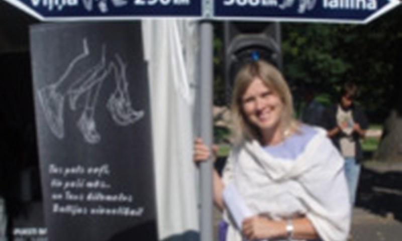 """Diāna Zande aicina skriet vienotības skrējienā """"Sirdspuksti Baltijai"""" Siguldā!"""