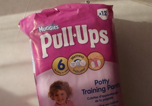 Huggies Pull Ups - un kādas biksītes ir tavai meitiņai?