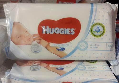 Pievilcīgas cenas jaunumam no Huggies