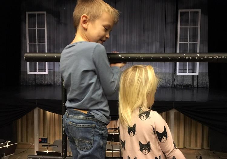 Pirmo reizi ar bērniem uz operu. Īstu operu!