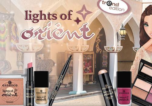 """essence trendu sērija """"lights of orient"""""""