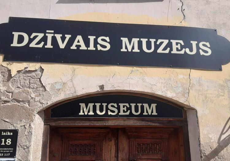 Dzīvais muzejs Kuldīgā.