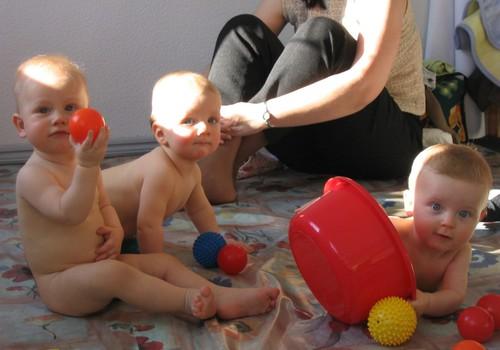 Nodarbības bēbīšiem jau no 6 nedēļu vecuma