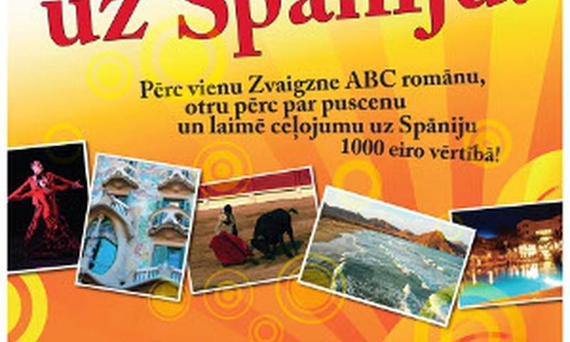 """Jauna loterija """"Zvaigznes romāni ved uz Spāniju"""""""
