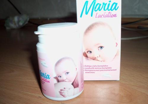Maria Lactation-labs palīgs pieniņa veidošanā.
